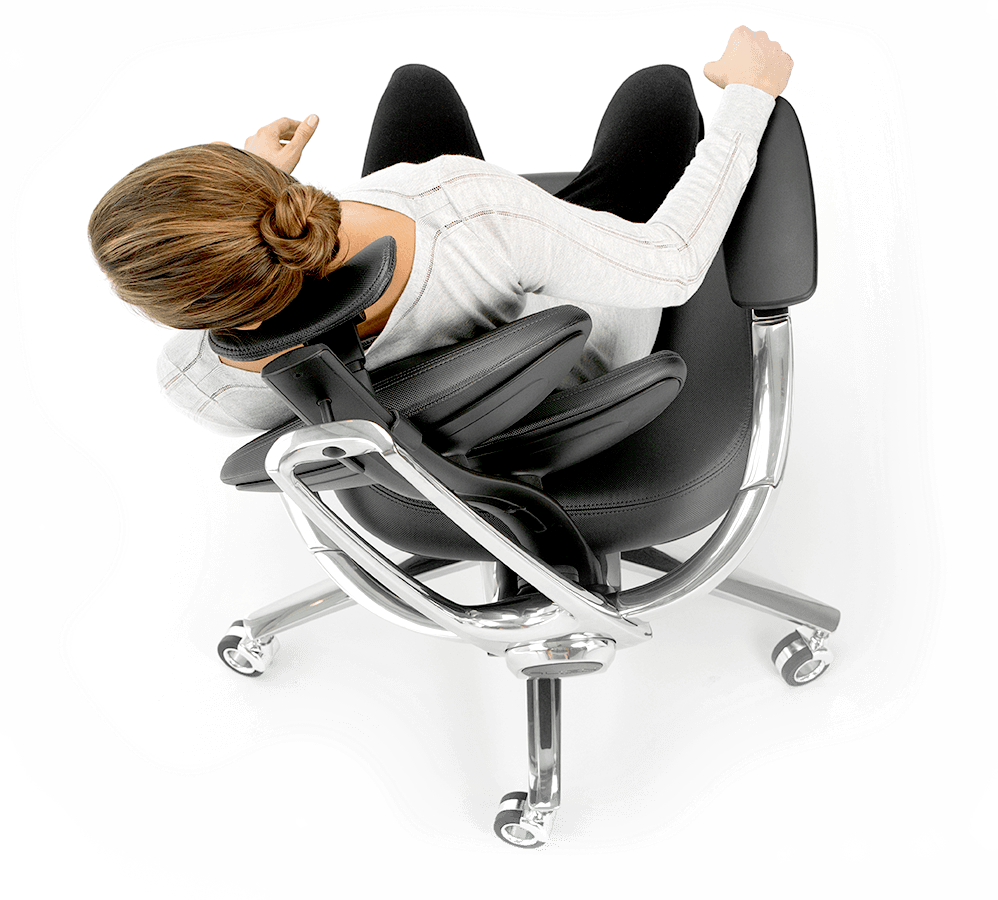 Features of the Muuv chair - supporting every move
