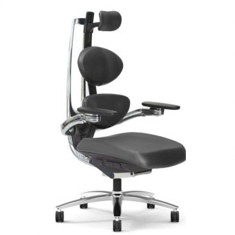 Muuv chair in black side alt